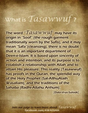 Tasawwuf, the Reality of Islam