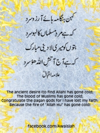 Desire to find allah has gone cold